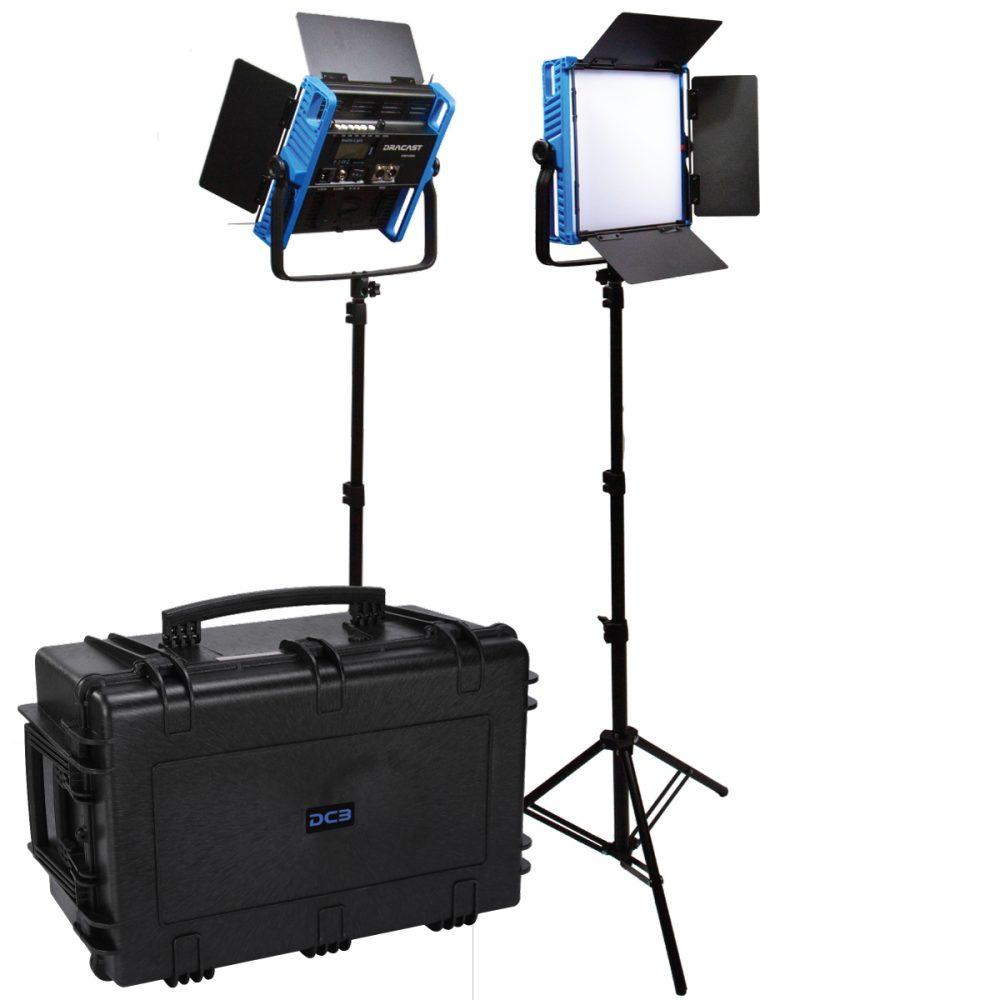 Picture of Dracast Kala Plus Series LED1000 Bicolor 2 Light Kit