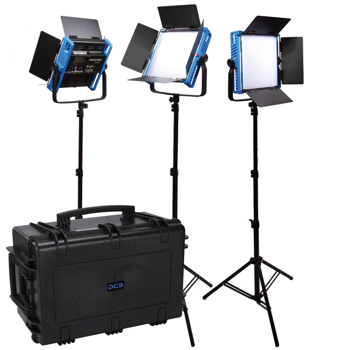 Picture of Dracast Kala Plus Series LED1000 Bicolor 3 Light Kit
